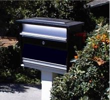 Plain, Locked, Industrial-Quality Mailbox